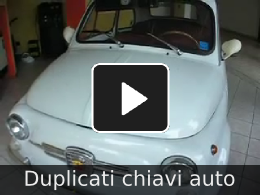 video duplicati chiavi auto